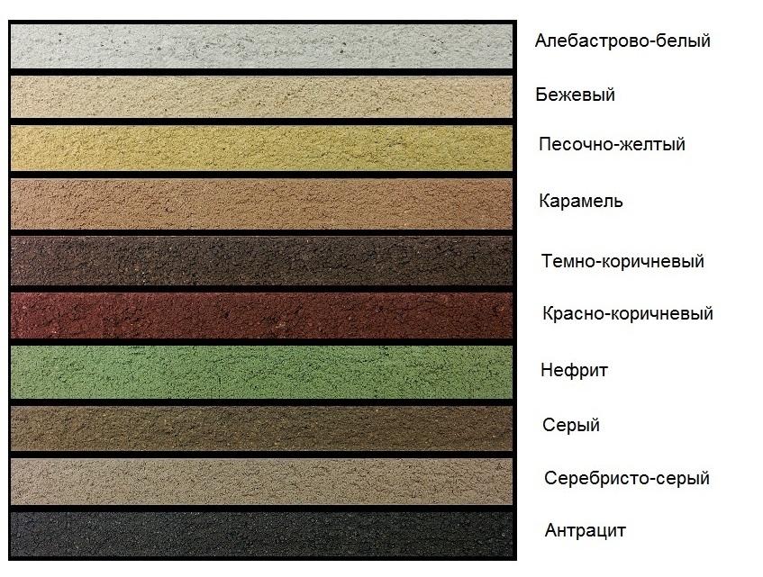 Новые цвета затирки FBR